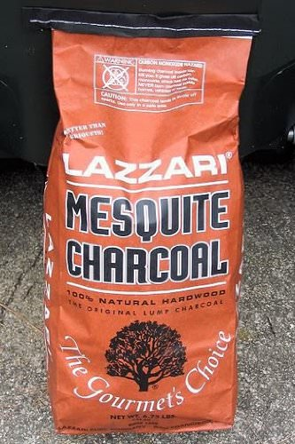 100% Natural Lazzari Mesquite Charcoal review