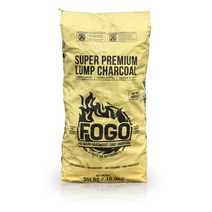 FOGO All Natural Premium Hardwood Lump Charcoal review