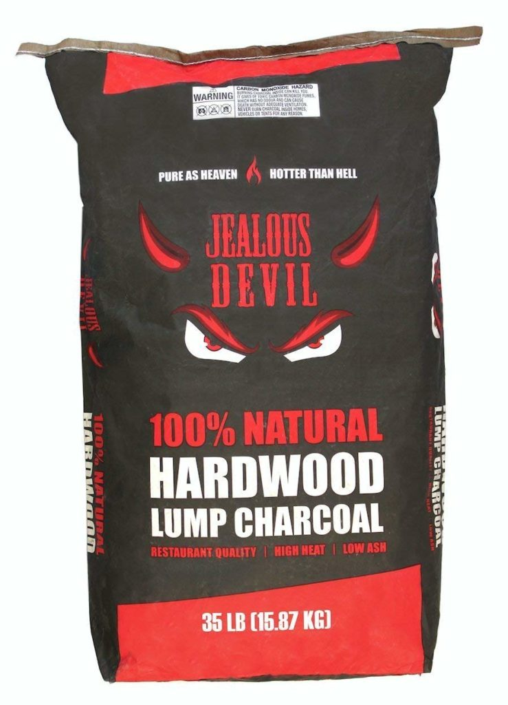 Jealous Devil 100% Natural Hardwood Lump Charcoal review