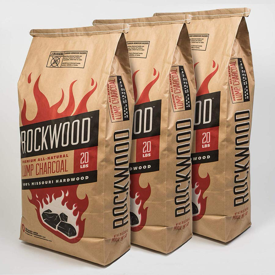 Rockwood Premium All Natural Lump Charcoal review