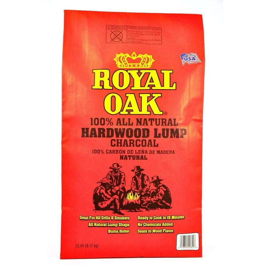 Royal Oak 100% All-Natural Hardwood Lump Charcoal review